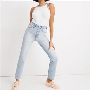 Madewell The Curvy Perfect Vintage Jean